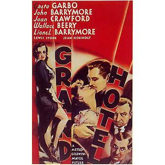 Grand Hotel elokuvan juliste (11 x 17)