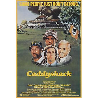 Caddyshack Movie Poster Print Poster Poster Print