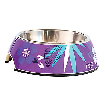 Rogz Bubble Bowl lila Wald