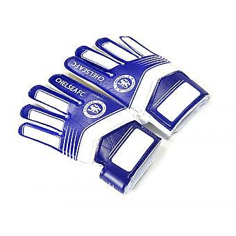 Chelsea FC Childrens/Kids Goalkeeper Gloves