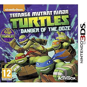 Teenage Mutant Ninja Turtles Danger of the Ooze (Nintendo 3DS) - New