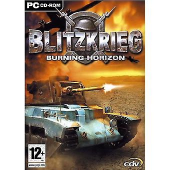 Blitzkrieg Burning Horizons (PC)-fabriken förseglad