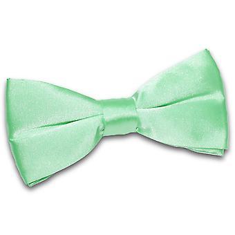 Mint Green Plain Satiini ennalta sidottu rusetti