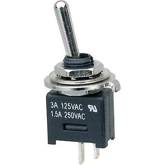 SCI MTE101A1 Toggle switch 250 V AC 3 A 1 x Off/On latch 1 pc(s)