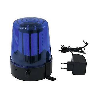 Eurolite LED (monocromo) Baliza policial giratoria 4 W Blue No. de bombillas: 108