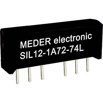 StandexMeder Electronics SIL24-1A72-71D Reed relay 1 maker 24 V DC 0.5 A 10 W SIL 4