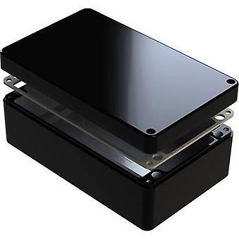 Deltron skap 487-221208B Universal kabinett 220 x 120 x 80 Aluminium svart 1 eller flere PCer