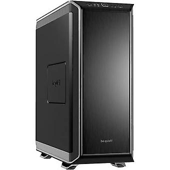 BeQuiet Dark Base 900 Silver Midi -torni PC-kotelo, Pelikonsolin kotelo Musta, Hopea