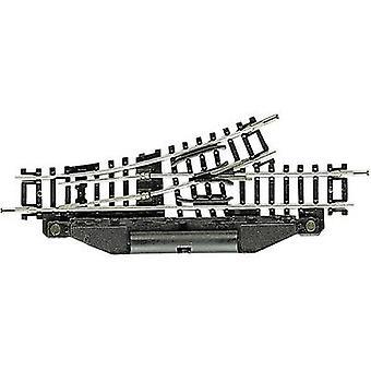 22249 N Fleischmann (w/o Track Bed) Pisteet, sähköiset, vasen 104,2 mm 24 ° 194,6 mm