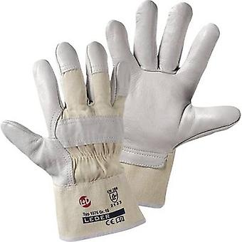 L+D worky Basalt 1575 Full-grain cowhide Protective glove Size (luvas): 10, XL EN 388:2016 CAT II 1 Pair