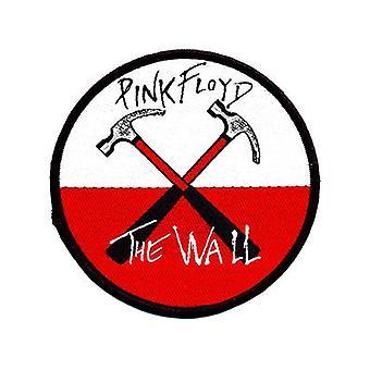 Pink Floyd-Wall hamers naai-op doek Patch