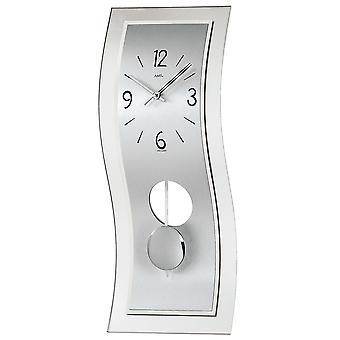 Pendulum clock wall clock with pendulum glass quartz watch