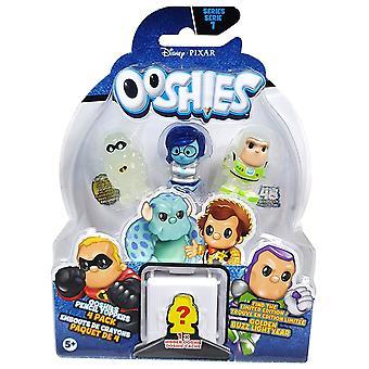 Ooshies Pixar 4 Pack Asst - Wave 1 - sortiert