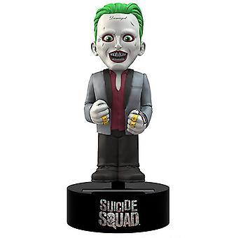 Suicide Squad Bodyknocker Joker bunt, aus Kunststoff, solarbetrieben, in Geschenkkarton.