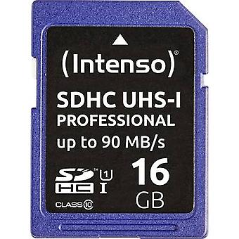 Intenso Professional SDHC card 16 GB Class 10 UHS-I