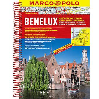 Belgium/Netherlands/Luxembourg Marco Polo Atlas by Marco Polo - 97838