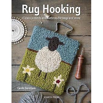 Fil crochet - 14 projets fabuleux pour le talonneur de tapis modernes en laine