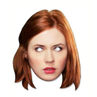 Amy Pond - Karen Gillan Doctor Who Card Fancy Dress Mask
