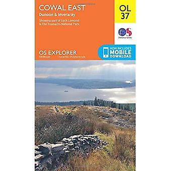 OS Explorer OL37 Cowal Ost Dunoon & Inveraray (OS Explorer Map)