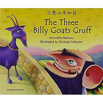 Les trois Billy Goats bourru dans cantonais & anglais