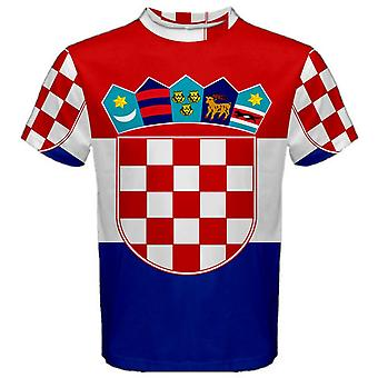 Flaga Chorwacji SUBLIMOWANA Koszulka