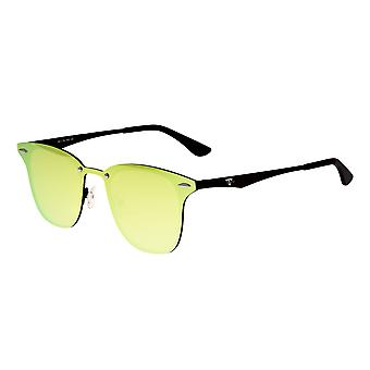 Sixty One Infinity Polarized Sunglasses - Black/Yellow-Green