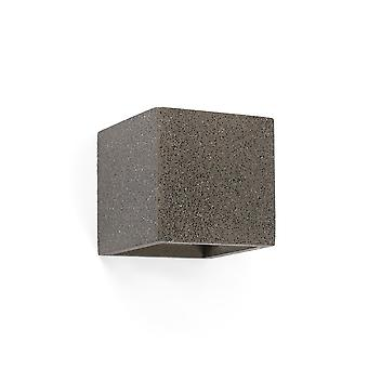 Faro - Kamen grau Cube Wand Licht FARO63312
