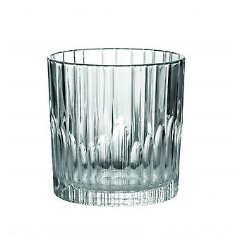 Duralex Manhattan Whisky Tumbler Glasses 30.5 Cl Pack Of 6 Without Filling Mark