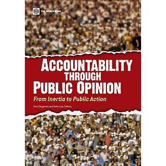 Rendición de cuentas a través de público OpinionFrom la inercia a la acción pública por Odugbemi y Sina