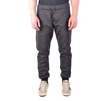 Jacob Cohen Ezbc054110 Hombres's Pantalones de Lana Gris