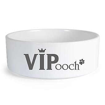 VIPooch Large Ceramic Dog Bowl