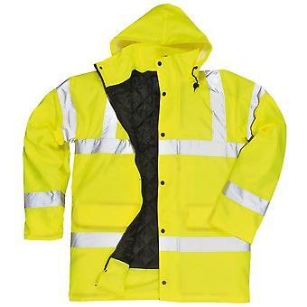 Portwest Hi-Vis Traffic Jacket (S460) / Workwear / Safetywear (Pack of 2)