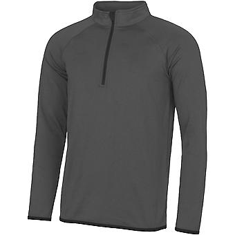 Outdoor Look Mens Cool Sweat Half Zip Active Sweatshirt Top