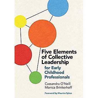 Vijf elementen van collectief leiderschap voor Professionals van de vroege kinderjaren