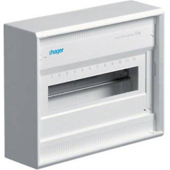 Hager VA12CN Switchboard cabinet Surface-mount No. of partitions = 12 No. of rows = 1