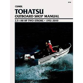 Clymer Tohatsu Outboard Shop Manual - 2.5-140 HP Two-Stroke - 1992-20
