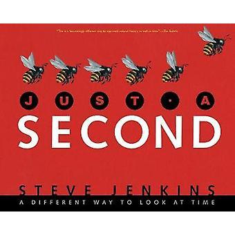 Bara en sekund av Steve Jenkins-9781328740861 bok