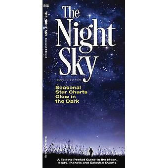 The Night Sky - A Folding Pocket Guide to the Moon - Stars - Planets &