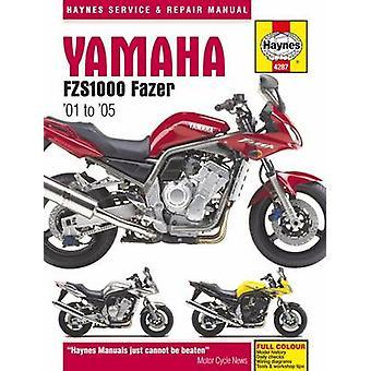 Yamaha FZS1000 Fazer Motorcycle Repair Manual by Editors of Haynes Ma