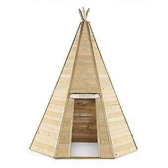 Play Tent - Grand Wooden Kids Teepee Hideaway - Outdoor Toys