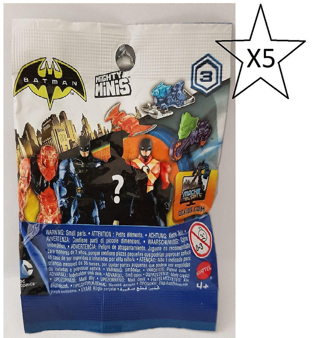 Batman Blind Bag Series 3 - 5 Packs Supplied