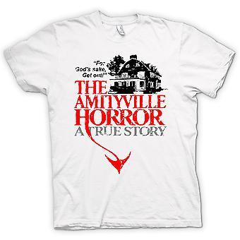 Womens T-shirt - Amityville House - Horror - Film