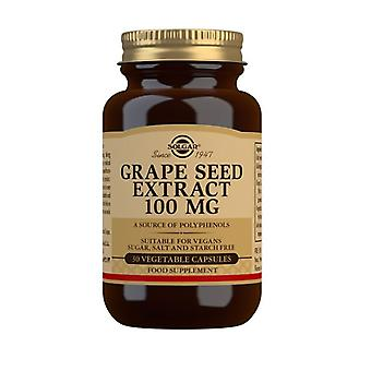 Solgar Grape Seed Extract 100mg Vegicaps 30 (1355)