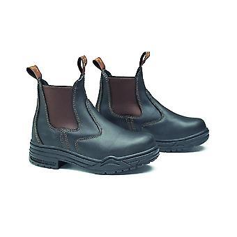 Mountain Horse Protective Jodhpur Boot - Dark Brown