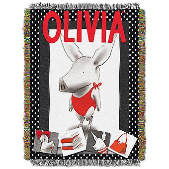 Tapestry Throws - Dreamworks Olivia - Olivia Star (48x60