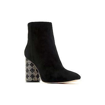 Katy Perry Womens Die Mayari Wildleder Mandel Toe Knöchel Mode Stiefel
