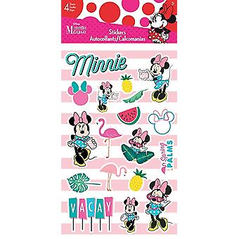 Standard Stickers 4 sheet - Minnie Mouse - Tropical Stationery New st4121