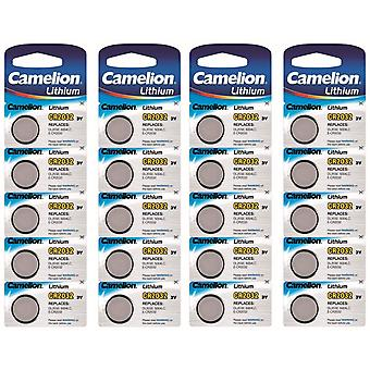 Batteria di litio Camelion CR2032 20-pack