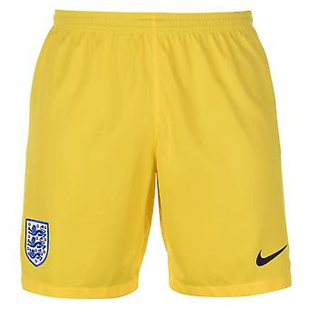 2018-2019 England Nike Home Torwart Shorts (gelb)