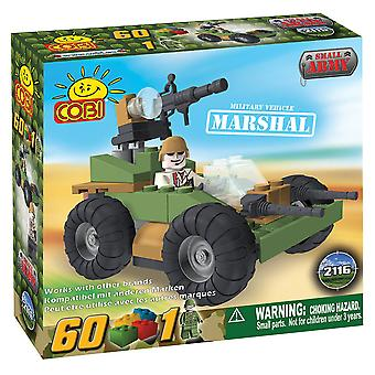 Small Army 60 Piece Marshal Military Veh Construction Set